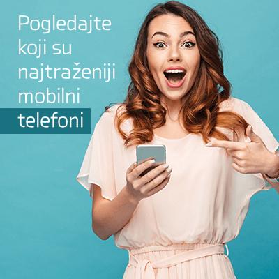 Avgust jedan 2021 - Pogledajte koji su najtraženiji mobilni telefoni