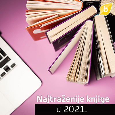 Oktobar tri 2021 - Najtraženije knjige u 2021.